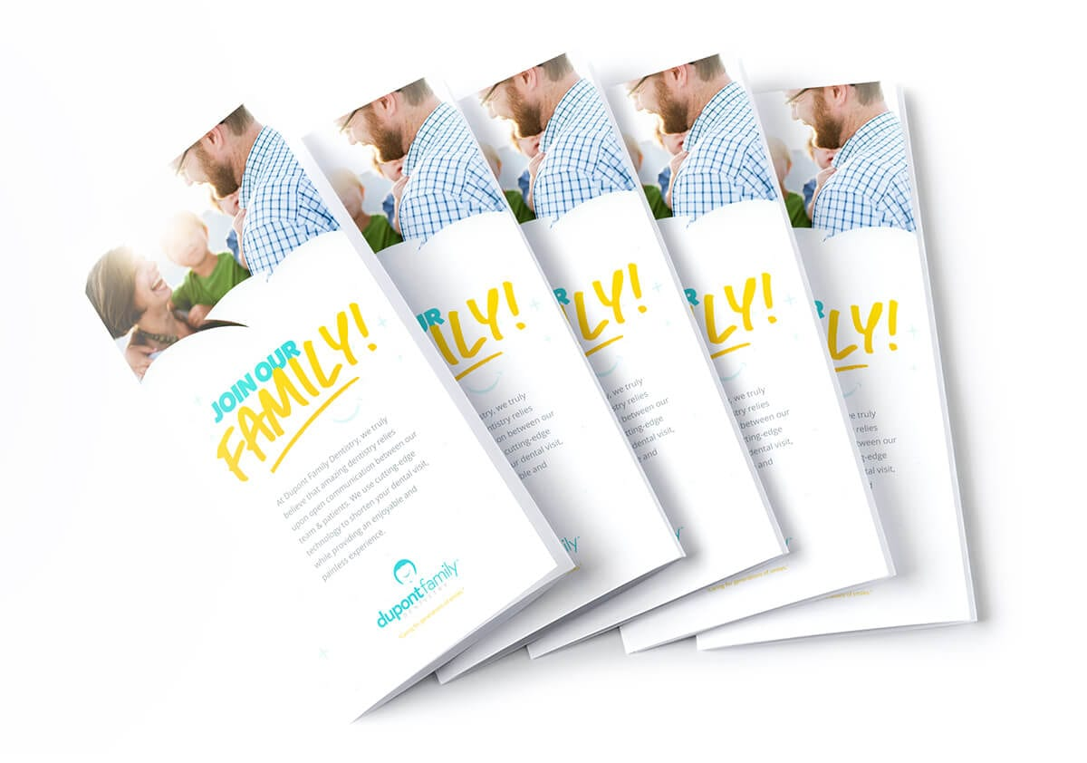 Dupont-Family-Dentistry_Logo_Cosmetic-General_Dentist_Fort-Wayne-Indiana_Dr-Diehl_Brand-Identity-Design_Branding_Promotional-Material_Brochure_Design_Mockups